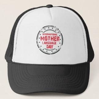 Boné Dia internacional da língua de mãe
