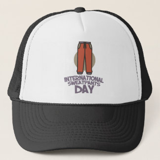 Boné Dia internacional de Sweatpants - dia da