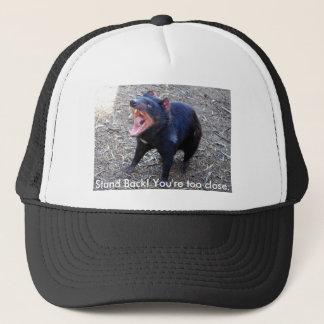 Boné Diabo tasmaniano h--  Esteja para trás! Você é