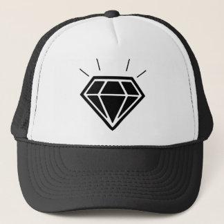 Boné Diamante Bling