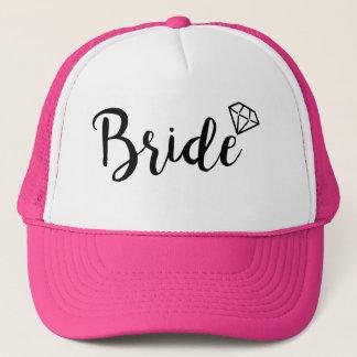 Boné Diamante de Bling da noiva