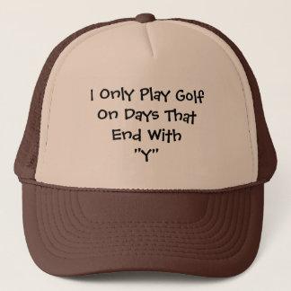Boné Dias do golfe
