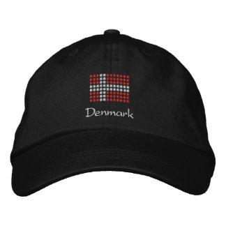 Boné dinamarquês - chapéu dinamarquês da bandeira