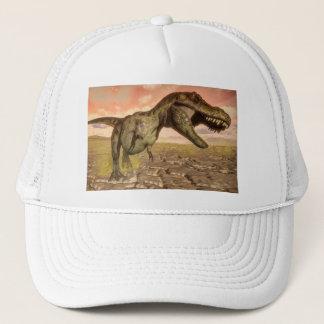 Boné Dinossauro do rex do tiranossauro que ruje