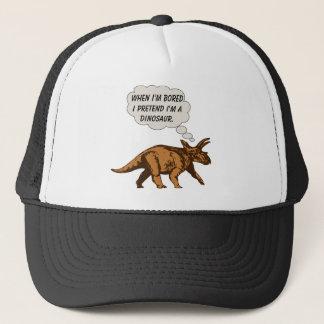 Boné Dinossauro engraçado do Triceratops