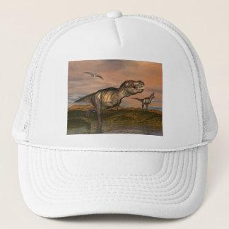 Boné Dinossauros do rex do tiranossauro - 3D rendem