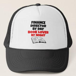 Boné Diretor da finança do amante de livro