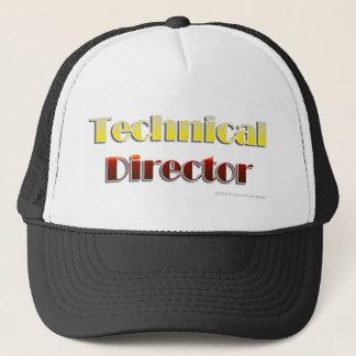 Boné Diretor técnico (texto somente)