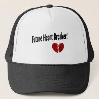 Boné Disjuntor futuro do coração!