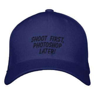 """Boné """"Dispare primeiramente, Photoshop mais tarde! """""""