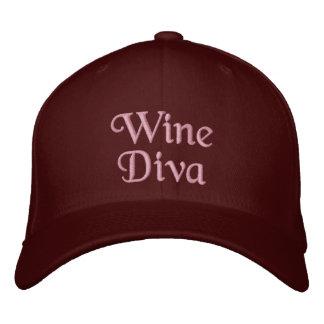 Boné Diva do vinho