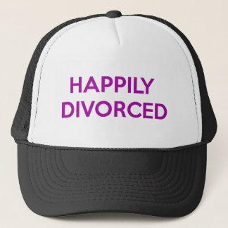 Boné Divorciado feliz - feliz ser divorciado