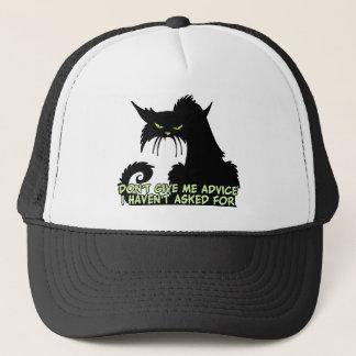 Boné Dizer do conselho do gato preto
