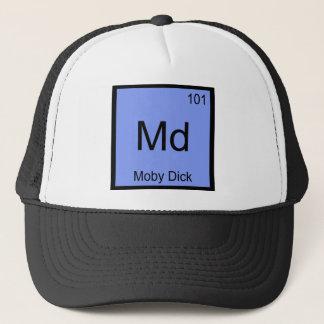 Boné DM - T engraçado do símbolo do elemento da química