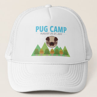Boné do acampamento do Pug