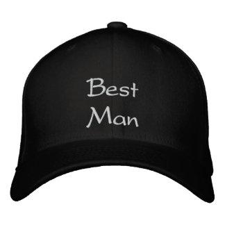Boné do bordado do melhor homem o melhor