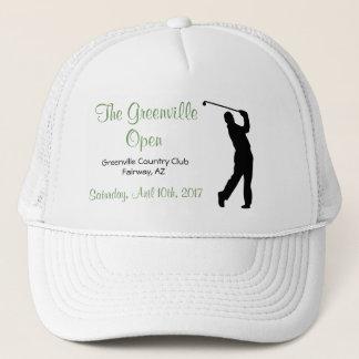Boné Do camionista aberto do esporte do evento do golfe
