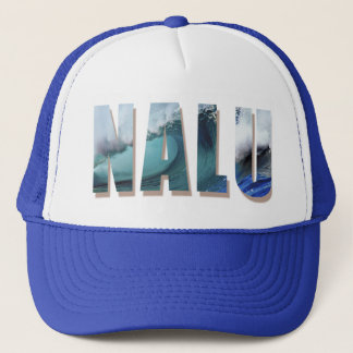 """Boné do camionista de """"Nalu"""" com o impressão"""