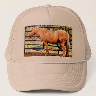 Boné do camionista do cavalo do Palomino