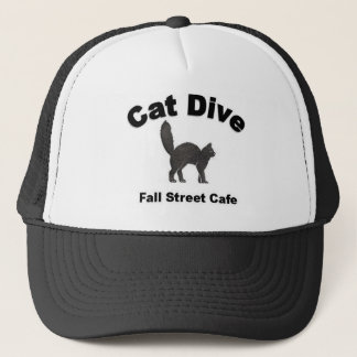 Boné do camionista do mergulho do gato