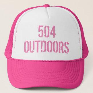 Boné do camionista dos outoors das mulheres 504