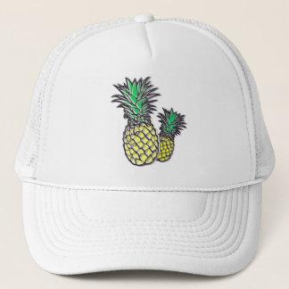 Boné Do camionista tropical da ilha dos abacaxis o
