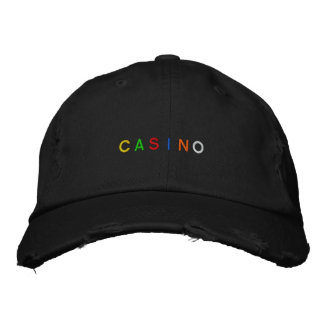 Boné do casino