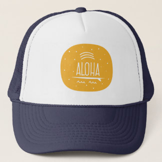 "Boné Do ""chapéu da prancha arco-íris Aloha"""