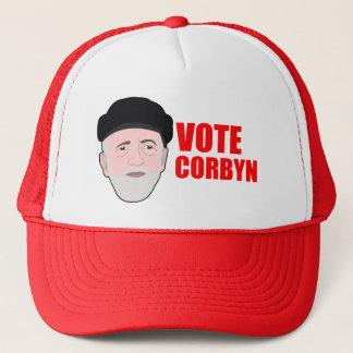 Boné do chapéu de Corbyn do voto