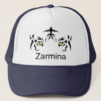 Boné do chapéu de Zarmina