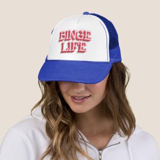 """Boné Do """"chapéu do camionista da vida frenesi"""""""