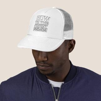 """Boné Do """"chapéu do camionista dos Overlords robô"""""""