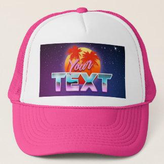 """Boné Do """"chapéu seu texto"""""""
