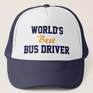 Boné do condutor de autocarro do mundo o melhor