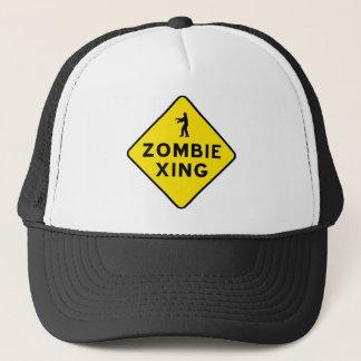 Boné do cruzamento do zombi