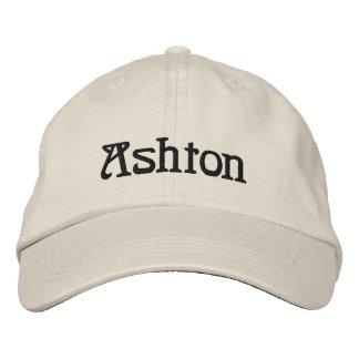 Boné do desenhista conhecido de Ashton