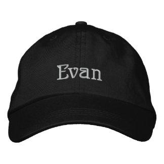 Boné do desenhista conhecido de EVAN