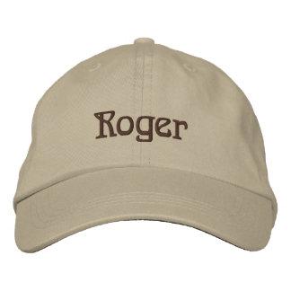 Boné do desenhista conhecido de ROGER