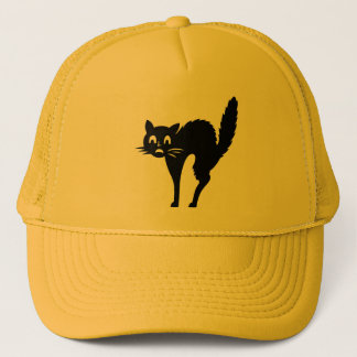 Boné do Dia das Bruxas do gato de Scaredy