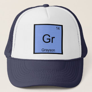 Boné Do elemento conhecido da química de Grayson mesa