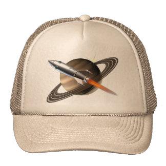 Boné do navio de Saturn Rocket
