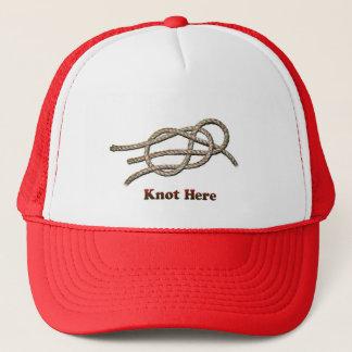 Boné Do nó chapéus aqui -