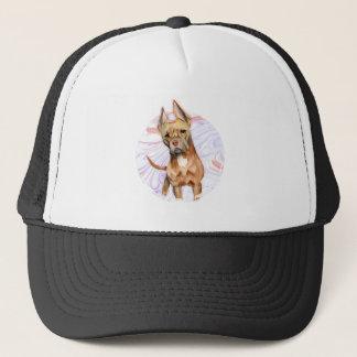 """Boné Do """"orelhas coelho"""" pintura da aguarela do cão de"""