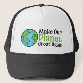 Boné Do planeta do excelente chapéu do camionista outra