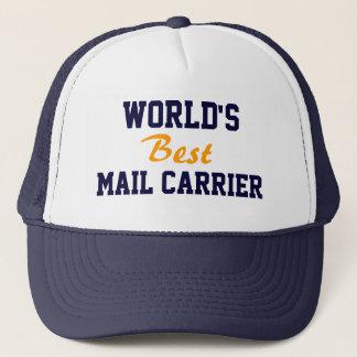 Boné do portador de correio do mundo o melhor