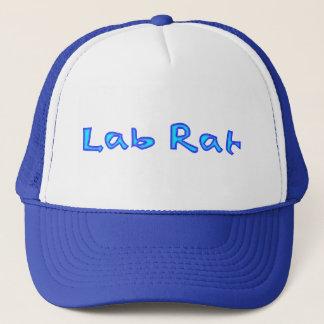 Boné do rato do laboratório