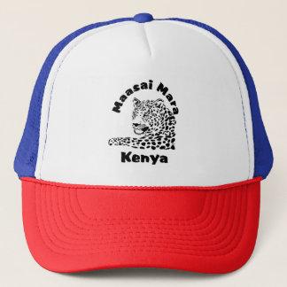 Boné do safari do leopardo de Maasai Mara Kenya