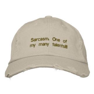 Boné do sarcasmo