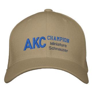 Boné do Schnauzer diminuto do campeão de AKC
