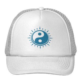 Boné do símbolo de Yin Yang